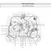 คู่มือการซ่อมและ WIRING DIAGRAM TOYOTA TACOMA เครื่องยนต์ 2RZ-FE, 3RZ-FE, 5VZ-FE