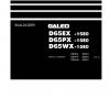 หนังสือ คู่มือซ่อม วงจรไฟฟ้า จักรกลหนัก BULLDOZER D61EXi-30324 , D61PXi-30324 (ทั้งคัน) EN