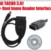 VAG TACHO 3.01 + Opel Immo Reader Interface