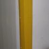 ยางหุ้มมุมเสา 8x8x100 cm สีดำและสีเหลือง
