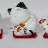 แมวกวัก แมวนำโชค สูง2นิ้ว ชุด 5 ตัว [catset-L1]