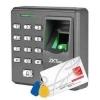 เครื่องสแกนลายนิ้วมือ ควบคุมประตู ZK X7 พร้อม Access Control System