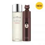 MISSHA Line Friends edition Time RevolutionThe First Treatment Essence Economy (Brown) + bonpum