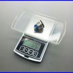 เครื่องชั่งดิจิตอล+นับจำนวนได้ เครื่องชั่งพกพา Pocket Scale200g/0.01 Grade A รับประกันความแม่นยำ เที่ยงตรง