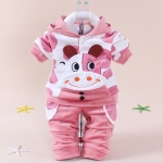 Fu Gui Bei pink cow