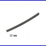 ท่อหด ท่อหุ้มสายไฟคุณภาพ1.5มม. KUHS 225 สีดำ ความยาว1เมตร