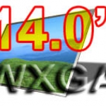 LCD 14.0 WXGA WIDE จอกระจก 1280 x 800 PIXELS