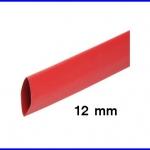 ท่อหด ท่อหุ้มสายไฟคุณภาพ 12มม. KUHS 225 สีแดงความยาว1เมตร