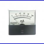 Panel Meter มิเตอร์ติดแผงหน้าปัทม์ 7203 DC100MA