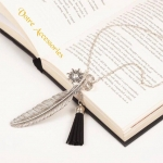 Tassel and leave necklaces