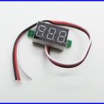 เครื่องวัดแบตเตอรี่ จอมิเตอร์วัดแบตเตอรี่ มิเตอร์วัดแรงดันไฟฟ้ากระแสตรง DC Battery Voltage Monitor Meter DC 0-100V