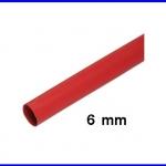 ท่อหด ท่อหุ้มสายไฟคุณภาพ 6มม. KUHS 225 สีแดงความยาว1เมตร