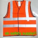 เสื้อสะท้อนแสง 3M-2925 สีส้มสะท้อนแสง