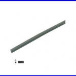 ท่อหด ท่อหุ้มสายไฟคุณภาพ 2มม. KUHS 225 สีดำ ความยาว1เมตร