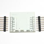 แผ่นปริ้น Esp8266 (ESP8266 PCB) + ก้างปลา + Regulator XC6206P332PR