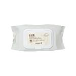 พร้อมส่ง SKINFOOD RICE Brightening Facial Cleansing Tissue 80pcs ช่วยทำความสะอาดได้ล้ำลึก