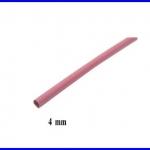ท่อหด ท่อหุ้มสายไฟคุณภาพ 4มม. KUHS 225 สีแดง ความยาว1เมตร