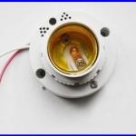สวิตช์เสียง เซ็นเซอร์เสียงเปิดปิดหลอดไฟ ขั้ว E27 Sound Switch Adapter Voice Control Induction Light Bulb Switch