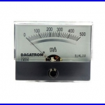 Panel Meter มิเตอร์ติดแผงหน้าปัทม์ 7202 DC500MA
