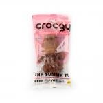 PET2GO ขนมขัดฟันสุนัข CROCGY รสเนื้อ 63g
