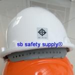 หมวกเซฟตี้ แบบปรับเลื่อน พร้อมสายรัดคางยางยืด มีมาตรฐาน มอก.368-2554