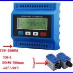 เครื่องวัดการไหลดิจิตอล มิเตอร์วัดการไหล มิเตอร์วัดอัตราการไหล Ultrasonic Flow Meter TUF-2000M-TM-1 DN50-700mm (สินค้าPre order 2 สัปดาห์)