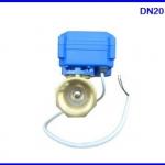 """มอเตอร์วาล์วไฟฟ้า เปิดปิดวาล์วไฟฟ้า 6 หุน Motorized ball valve 3/4"""" Electrical Ball Valve DN20 DC12V 2Way 2 Wire"""