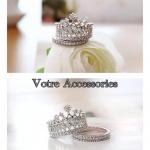 Crystal imperial rings
