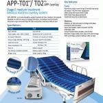 "Supercare T01P01 ที่นอนกันกันแผลกดทับ แบบลอน ""หนา"""