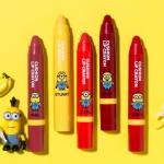 พร้อมส่ง(MISSHA X MINIONS Edition) Missha CUSHION Soft Lip Crayon 2.7 g (9,000won) มี 5 สีให้เลือก สามารถทาปากหรือแก้มก็ได้