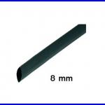 ท่อหด ท่อหุ้มสายไฟคุณภาพ 8มม.KUHS 225 TW สีดำความยาว1เมตร