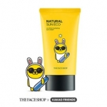 THE FACE SHOP Natural sun Eco No Shine Hydrating Sun Cream SPF 40 PA+++ (KAKAO FRIENDS) 50ml