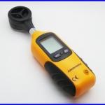 เครื่องวัดความเร็วลม เครื่องวัดลม มิเตอร์วัดความเร็วลม LCD Pocket Digital Anemometer Wind Speed Measure & Thermometer
