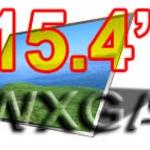 จอ LCD 15.4 WXGA WIDE จอกระจก 1280 x 800 PIXELS