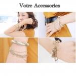 Luxury handmade gold chain bracelets