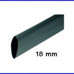 ท่อหด ท่อหุ้มสายไฟคุณภาพ 18มม. KUHS 225 สีดำ ความยาว1เมตร