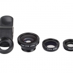 ชุดเลนส์ 3in1 Fish Eye + Wide Angle+ Macro Lens Fisheye Clip
