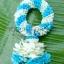 พวงมาลัยดอกไม้สด ขนาดพิเศษ รหัส 3507