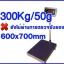 เครื่องชั่งดิจิตอล เครื่องชั่งดิจิตอลแบบตั้งพื้น300kg ความละเอียด50g แท่นขนาด600*700 mm รุ่น T7E-PB6070 thumbnail 1