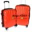 """กระเป๋าเดินทางล้อลาก เนื้อ PC สีแดง ขนาด 24 """" thumbnail 1"""