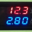 Volt-Amp Meter DC4-30V 10A LED DC แสดงผลแบบคู่ จอสีฟ้า-แดง thumbnail 3