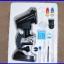 กล้องจุลทรรศน์ กล้องไมโครสโคป พร้อมอุปกรณ์ 300X 600x 1200x Projection Microscope 4-way system with light Student Microscope thumbnail 2