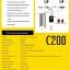 เครื่องทาบบัตร คีย์การ์ด ควบคุมประตู ZK C200 พร้อม Access Control System thumbnail 4