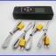 เทอร์โมมิเตอร์ เครื่องวัดอุณหภูมิ มิเตอร์วัดอุณหภูมิ -50°C~1350°C 4-Channel Digital Thermometer Type-K TM708 thumbnail 2
