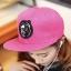 หมวกฮิปฮอป หมวก Hiphop สีชมพู thumbnail 1