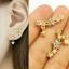 Crystal star earrings thumbnail 2