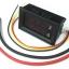 Volt-Amp Meter DC4-30V 10A LED DC แสดงผลแบบคู่ จอสีฟ้า-แดง thumbnail 2