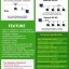 เครื่องทาบบัตร คีย์การ์ด ควบคุมประตู ZK M300 พร้อม Access Control System thumbnail 4