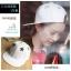 หมวกฮิปฮอป หมวก Hiphop ลายดาว สีขาว thumbnail 1
