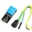 DHT11 เซนเซอร์วัดอุณหภูมิ+ความชื้น Module สำหรับ Arduino Module with PCB thumbnail 2